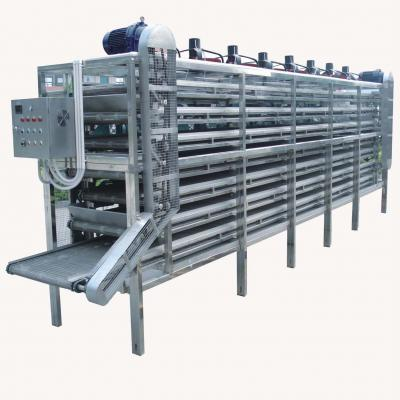 Continuous cooling machine
